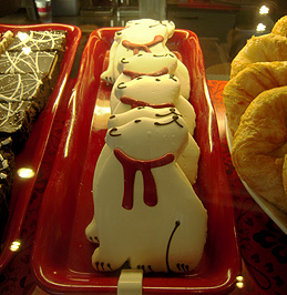 Starbucks Bear Cookies