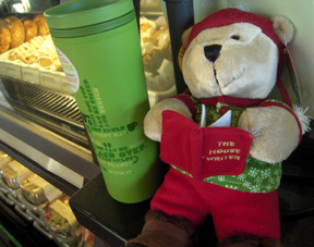 Starbuck Reading Bear